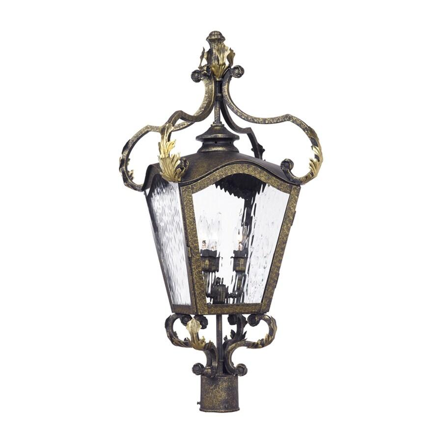 Westmore Lighting Acadiana 26-in H Castle Bronze Post Light