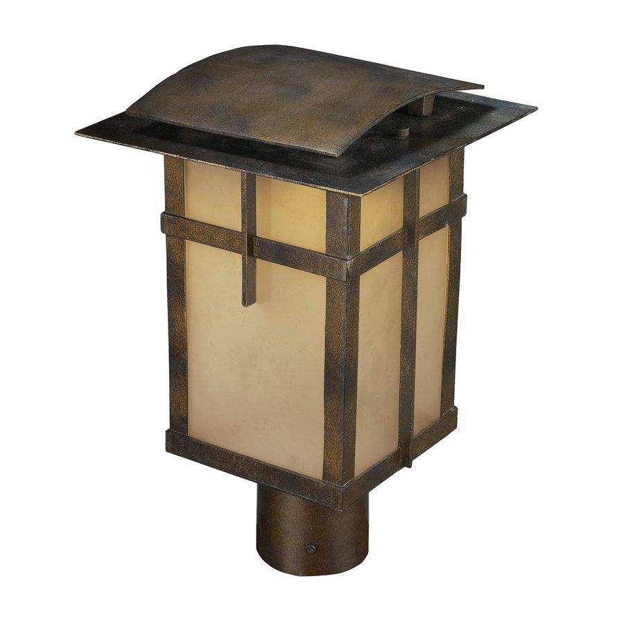 Westmore Lighting Fernando 14-in H Hazlenut Bronze LED Post Light
