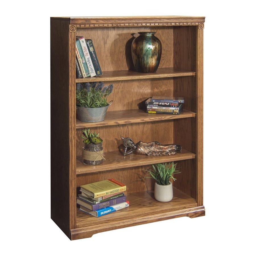 Legends Furniture Scottsdale Rustique Wood 4-Shelf Bookcase