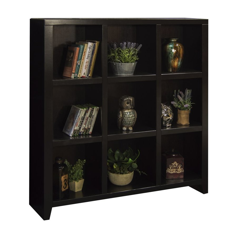 Legends Furniture Urban Loft Mocha Wood 9-Shelf Bookcase