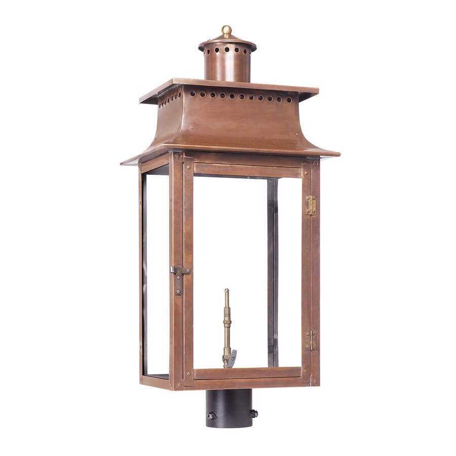 Westmore Lighting Maryville 30-in H Washed Pewter Post Light
