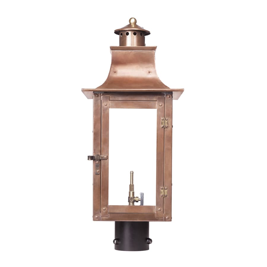 Westmore Lighting Maryville 23-in H Washed Pewter Post Light