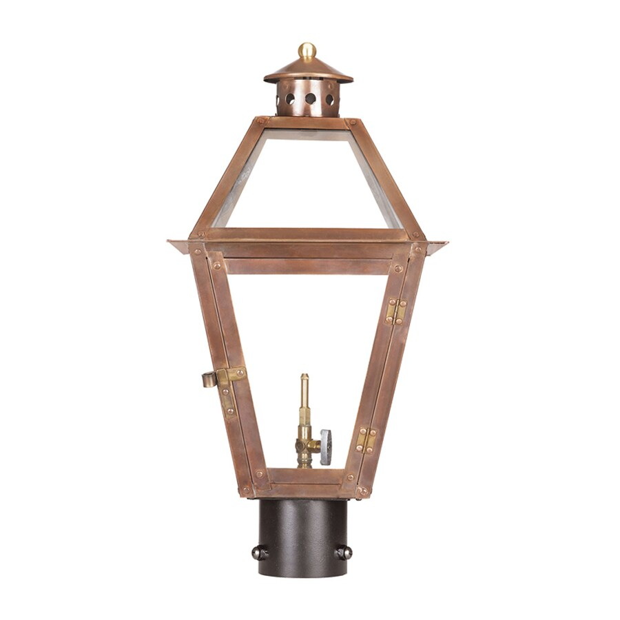 Westmore Lighting Grande Isle 21-in H Washed Pewter Post Light