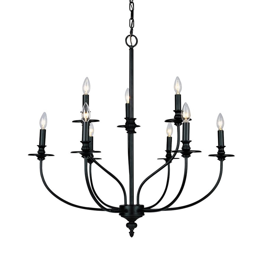 Shop westmore lighting spades 29 in 9 light oil rubbed bronze westmore lighting spades 29 in 9 light oil rubbed bronze williamsburg candle chandelier arubaitofo Images