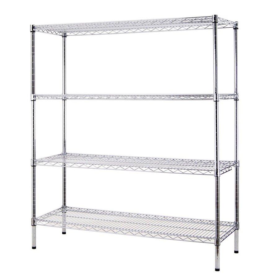 Excel 60-in H x 48-in W x 18-in D Steel Freestanding Shelving Unit