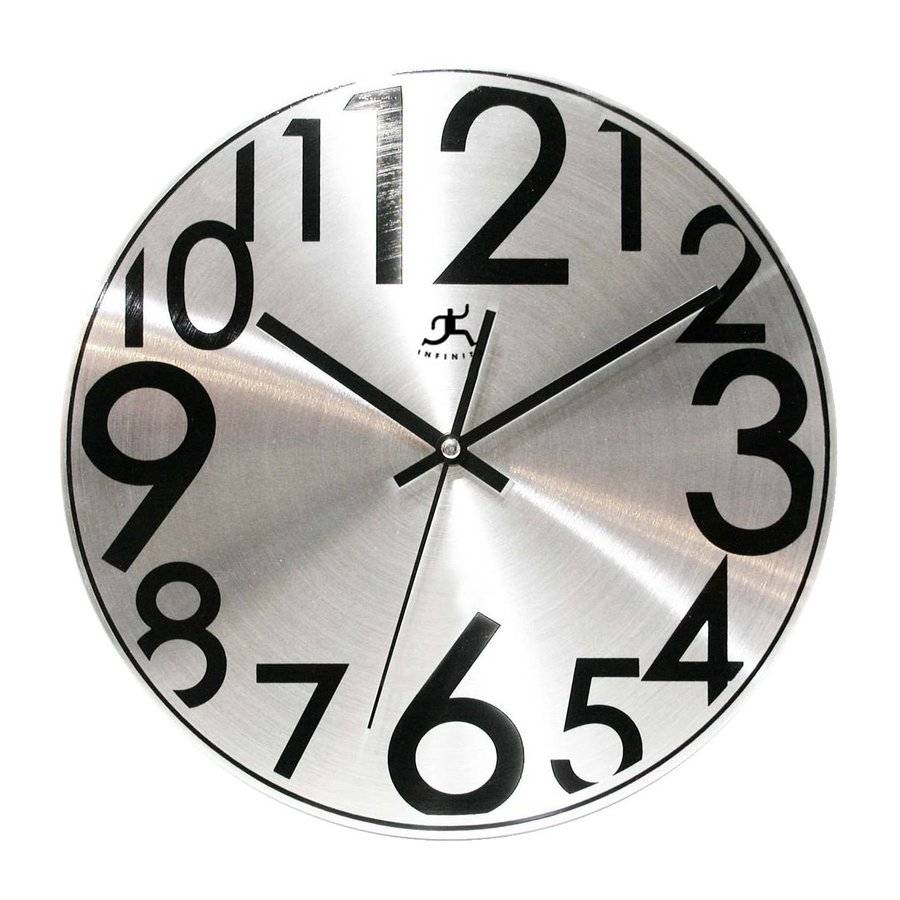 Infinity Instruments Twinkle Analog Round Indoor Wall Clock