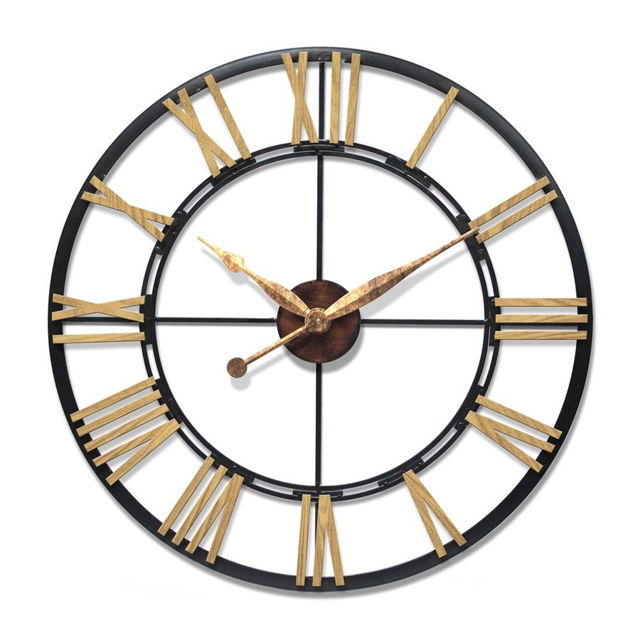 Infinity Instruments Cologne Analog Round Indoor Wall Clock