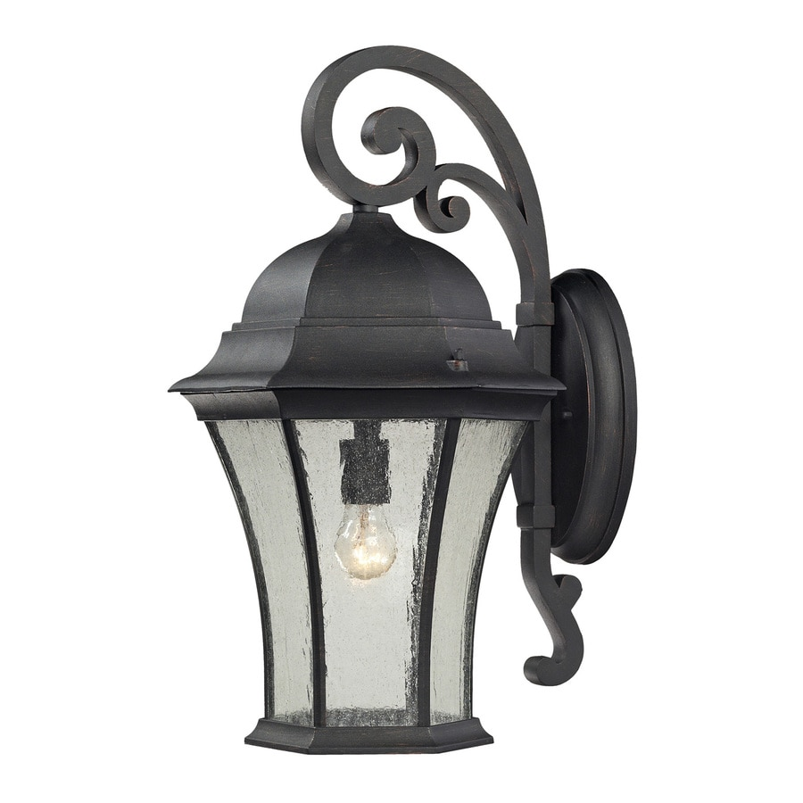 Westmore Lighting Wellington Park 22-in H Weathered Charcoal Medium Base (E-26) Outdoor Wall Light