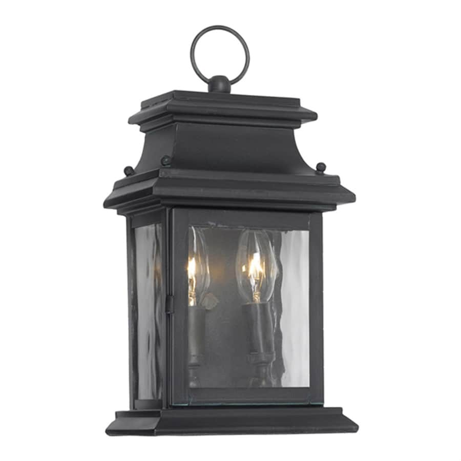 Westmore Lighting Provincial 14-in H Charcoal Candelabra Base (E-12) Outdoor Wall Light
