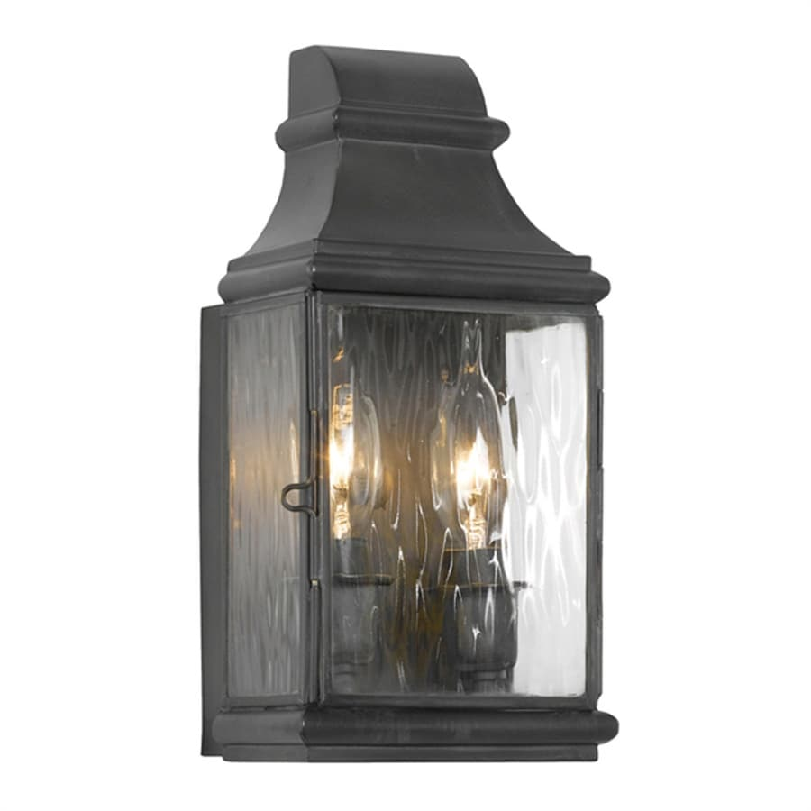 Westmore Lighting Jefferson 10.5-in H Charcoal Candelabra Base (E-12) Outdoor Wall Light