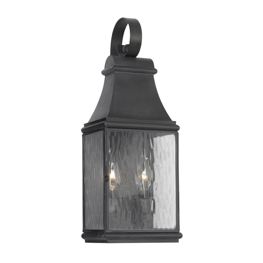 Westmore Lighting Jefferson 17.5-in H Charcoal Candelabra Base (E-12) Outdoor Wall Light