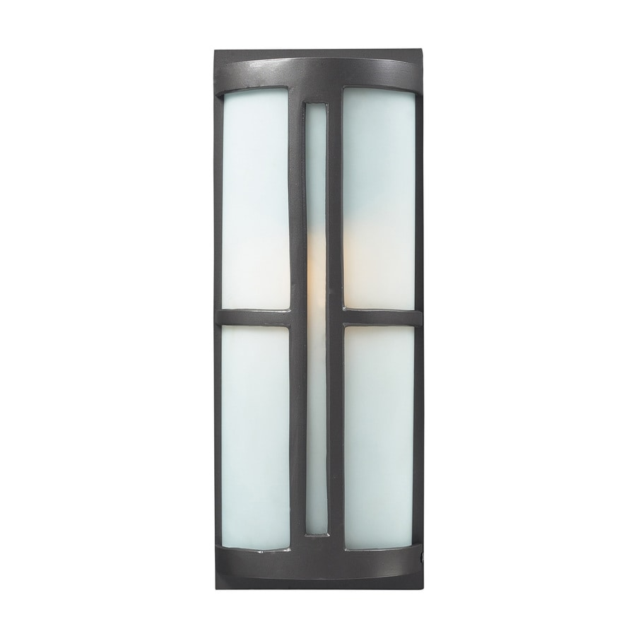 Westmore Lighting Trevot 17-in H Graphite Medium Base (E-26) Outdoor Wall Light