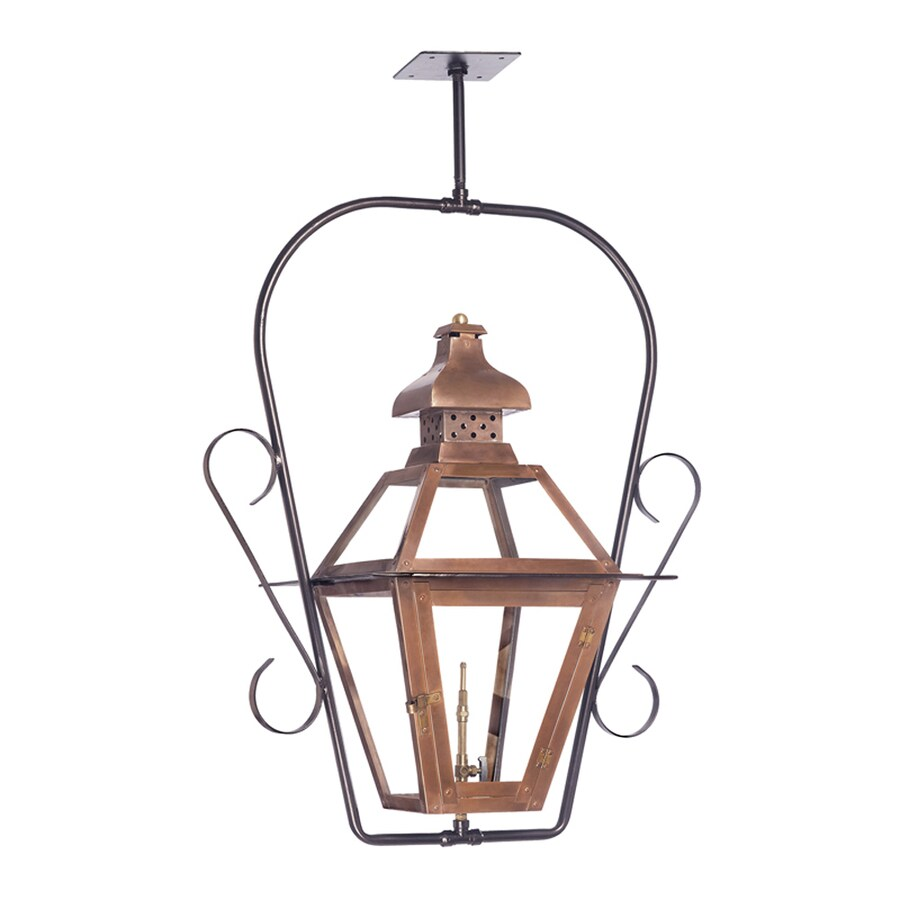 Westmore Lighting Bayou 30-in Washed Pewter Outdoor Pendant Light