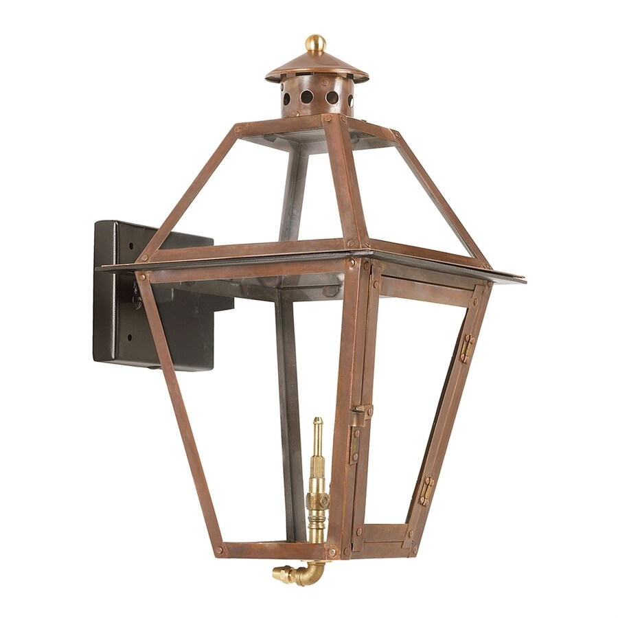 Westmore Lighting Grande Isle 18-in H Aged Copper Outdoor Wall Light