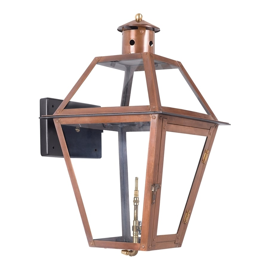 Westmore Lighting Grande Isle 24-in H Aged Copper Outdoor Wall Light
