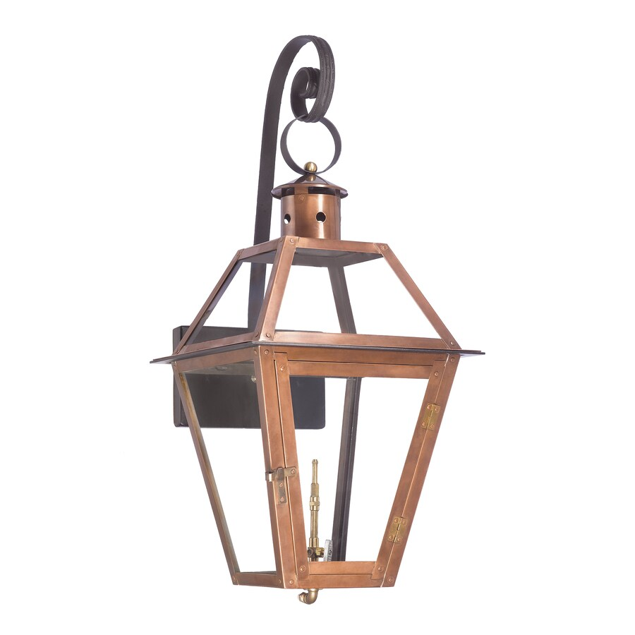 Westmore Lighting Grande Isle 31-in H Aged Copper Outdoor Wall Light
