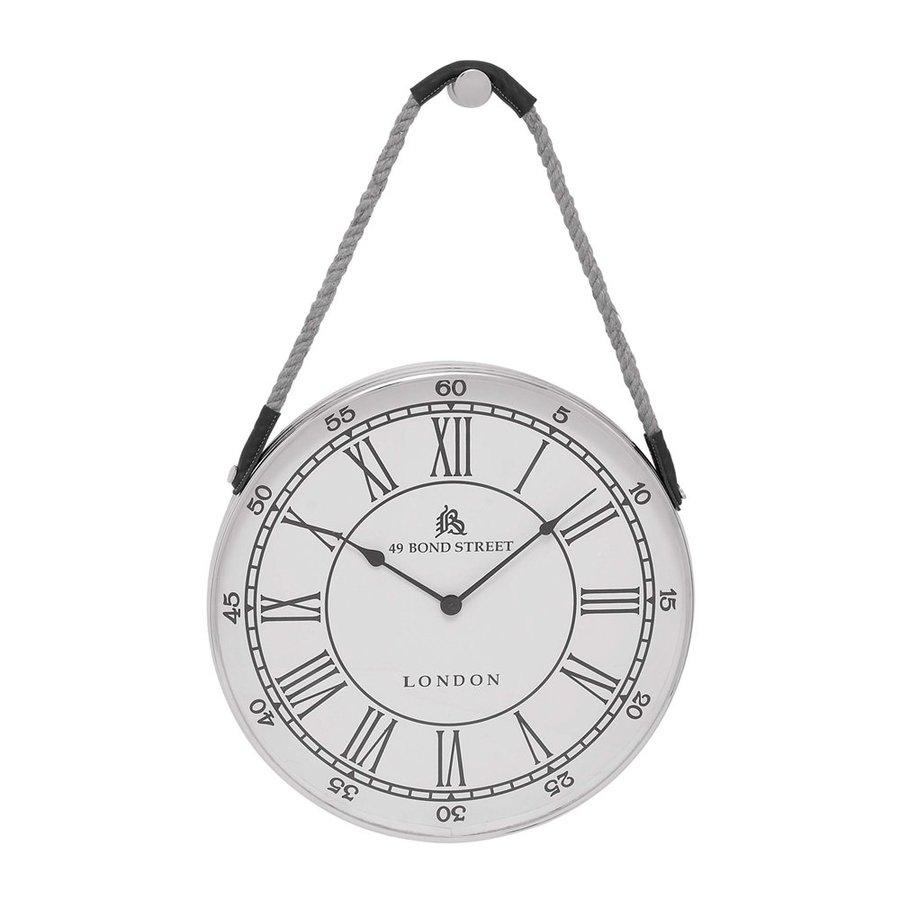 Woodland Imports Analog Round Indoor Wall Clock