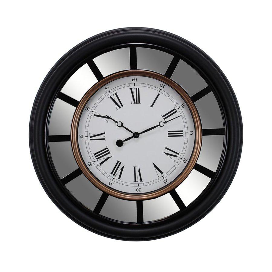 Nexxt Designs Vintage Mirrored Analog Round Indoor Wall Clock