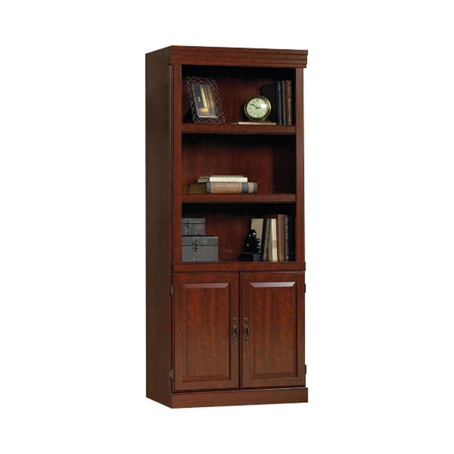 Sauder Heritage Hill Classic Cherry 3-Shelf Bookcase