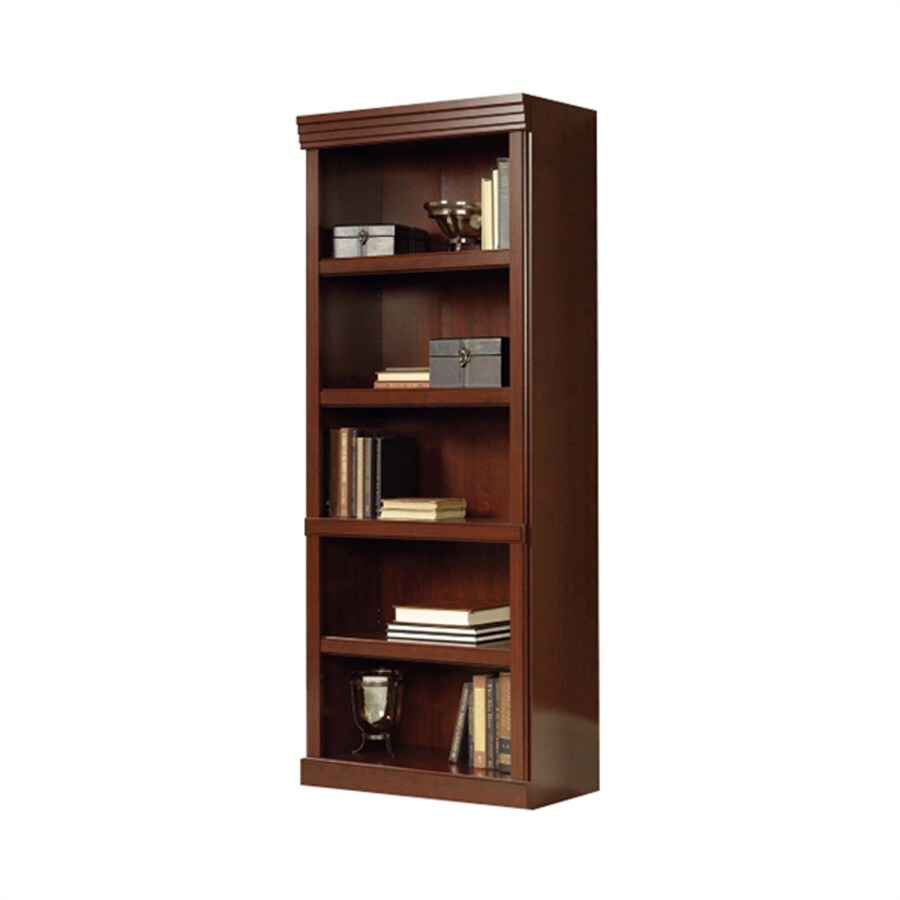 Sauder Heritage Hill Classic Cherry 5 Shelf Bookcase