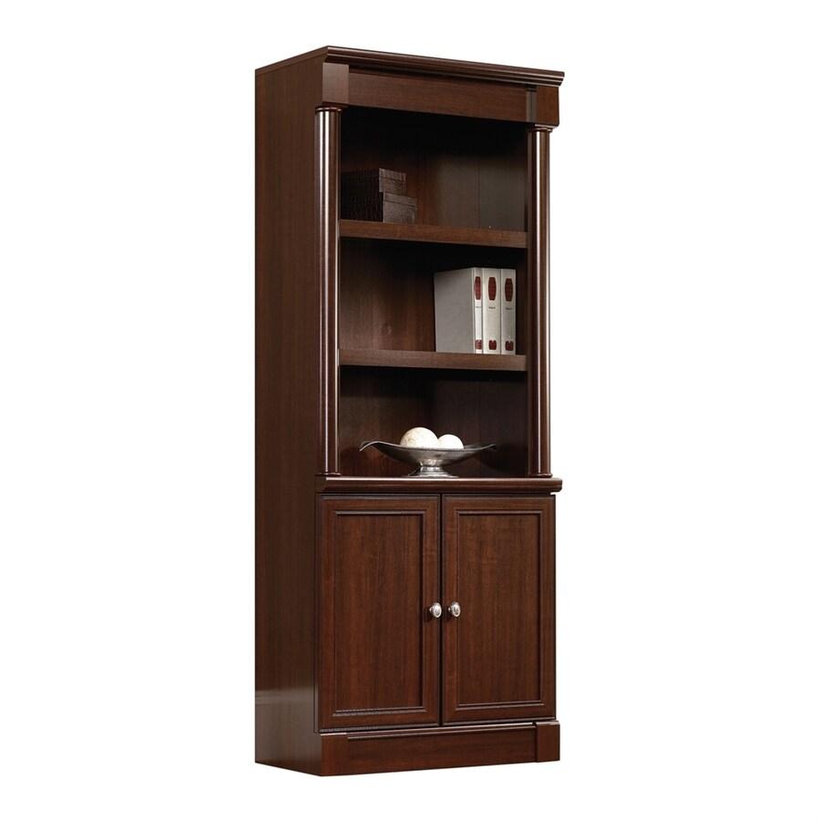 Sauder Palladia Select Cherry 3-Shelf Bookcase