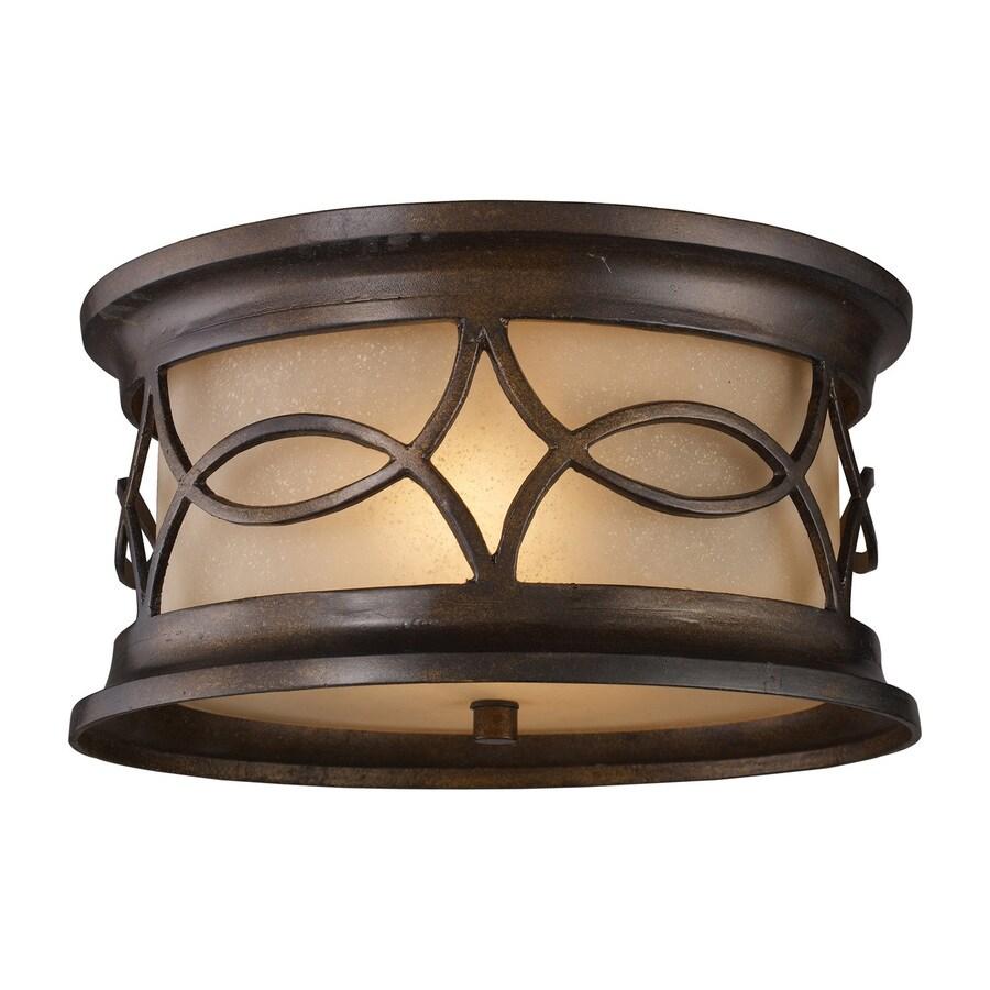 Westmore Lighting Bryant 12-in W Hazelnut Bronze
