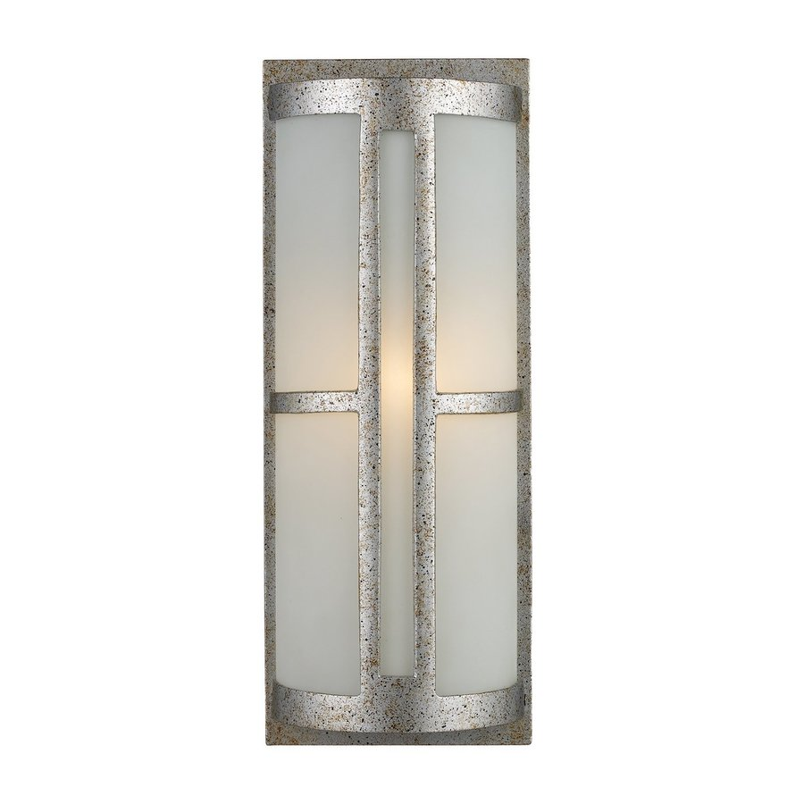 Westmore Lighting Trevot 17-in H Sunset Silver Medium Base (E-26) Outdoor Wall Light