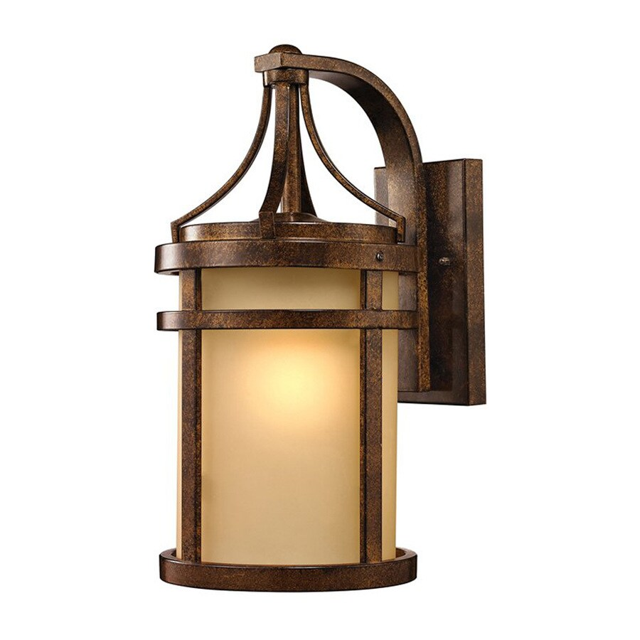 Westmore Lighting Winona 18-in H Hazelnut Bronze Medium Base (E-26) Outdoor Wall Light