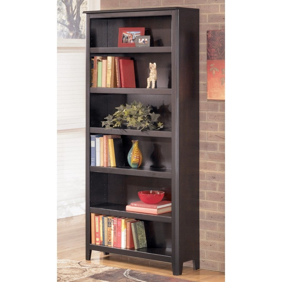 bronze bookcases shelves material bookshelf handle wood versatile finish with doors sturdy bookcase black style traditional tall