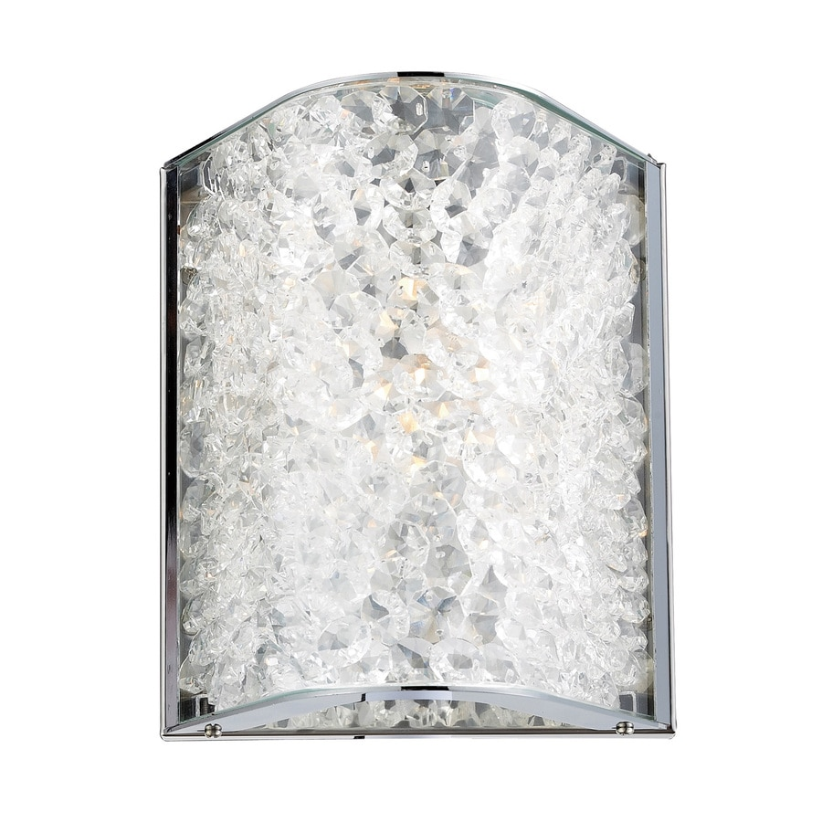 Westmore Lighting Rocora 7-in W 1-Light Polished Chrome Pocket Wall Sconce