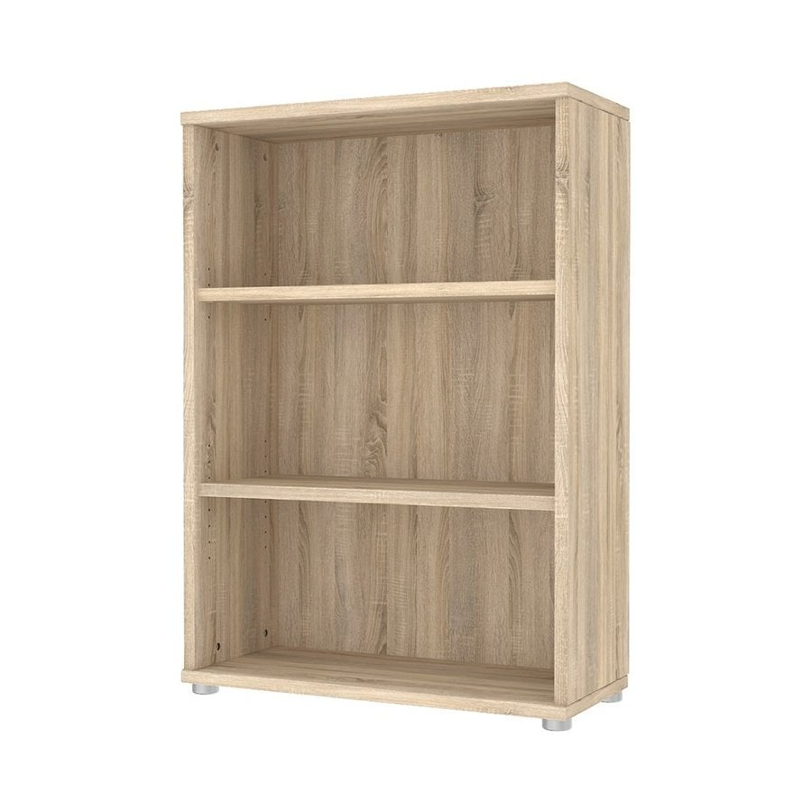 Tvilum Structure Oak 3-Shelf Bookcase