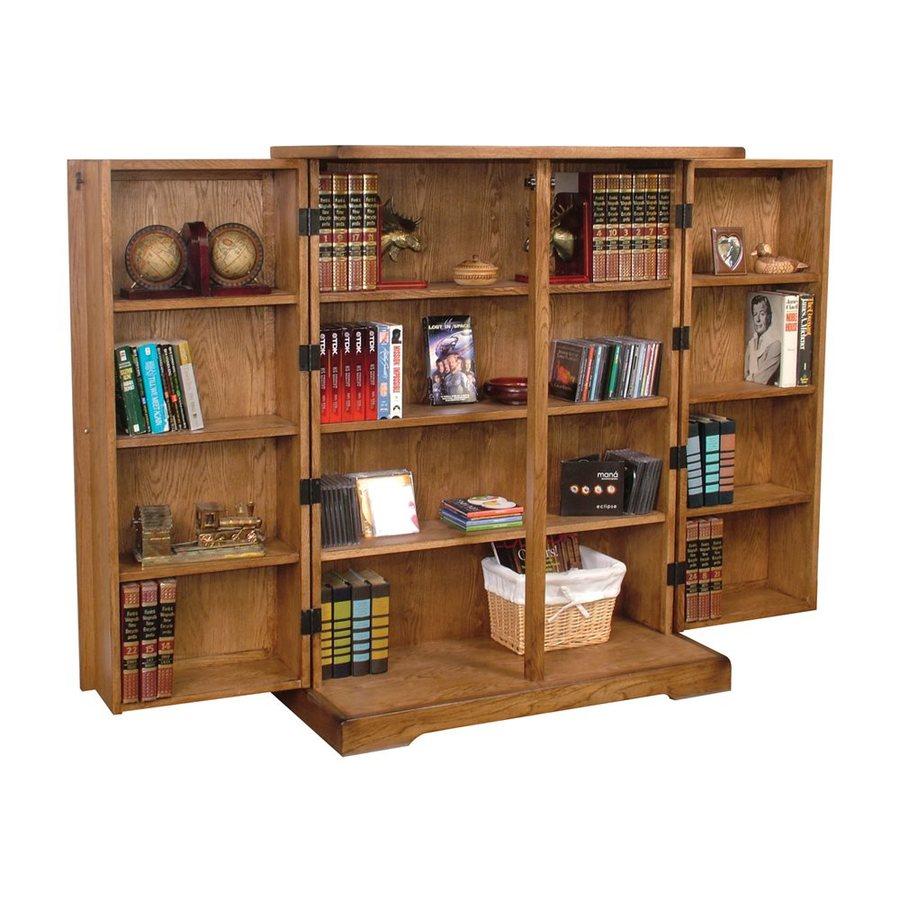 Sunny Designs Sedona Rustic Oak Wood 12-Shelf Bookcase
