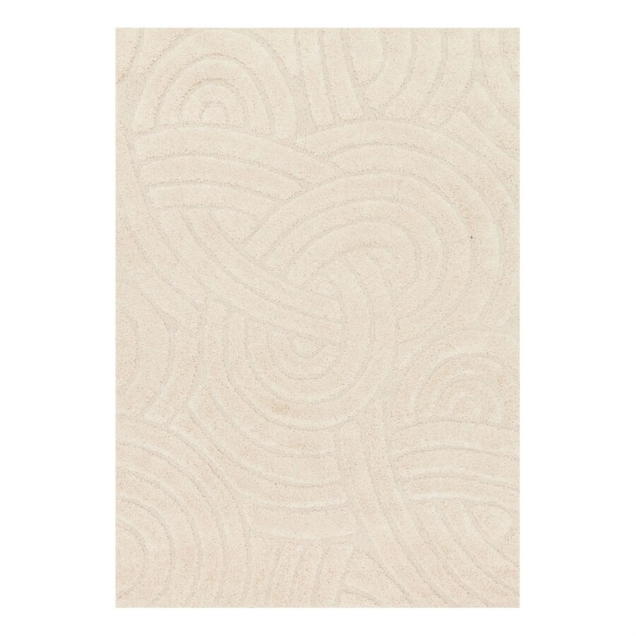 Loloi Enchant Ivory Rectangular Indoor Machine-Made Area Rug (Common: 2 x 3; Actual: 2.25-ft W x 3.75-ft L)