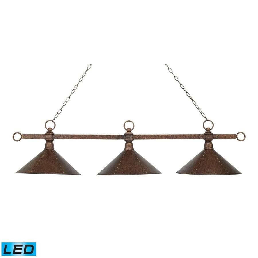 Westmore Lighting Designer Classics Antique Copper LED Pool Table Lighting