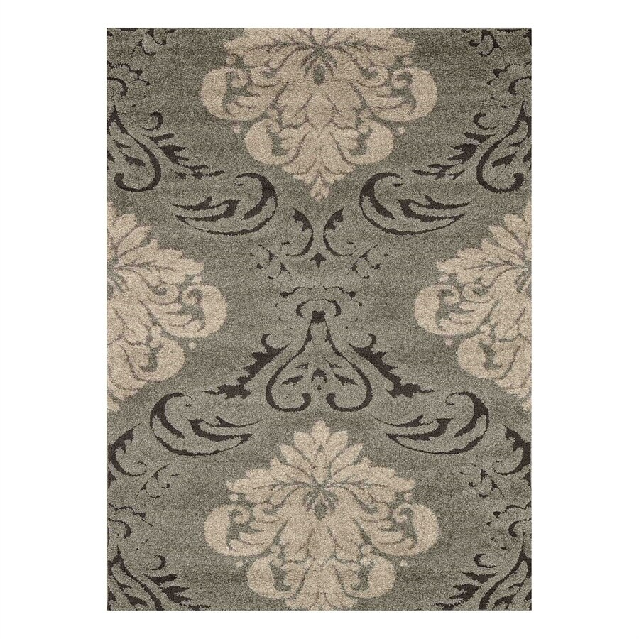 Loloi Enchant Smoke/Beige Rectangular Indoor Machine-Made Area Rug (Common: 2 x 3; Actual: 2.25-ft W x 3.75-ft L)