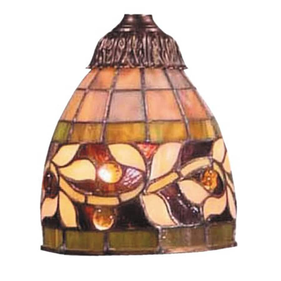 Westmore Lighting Mix-N Match 6-in H 5-in W Tiffany Style Stained Glass Tiffany-style Bell Pendant Light Shade