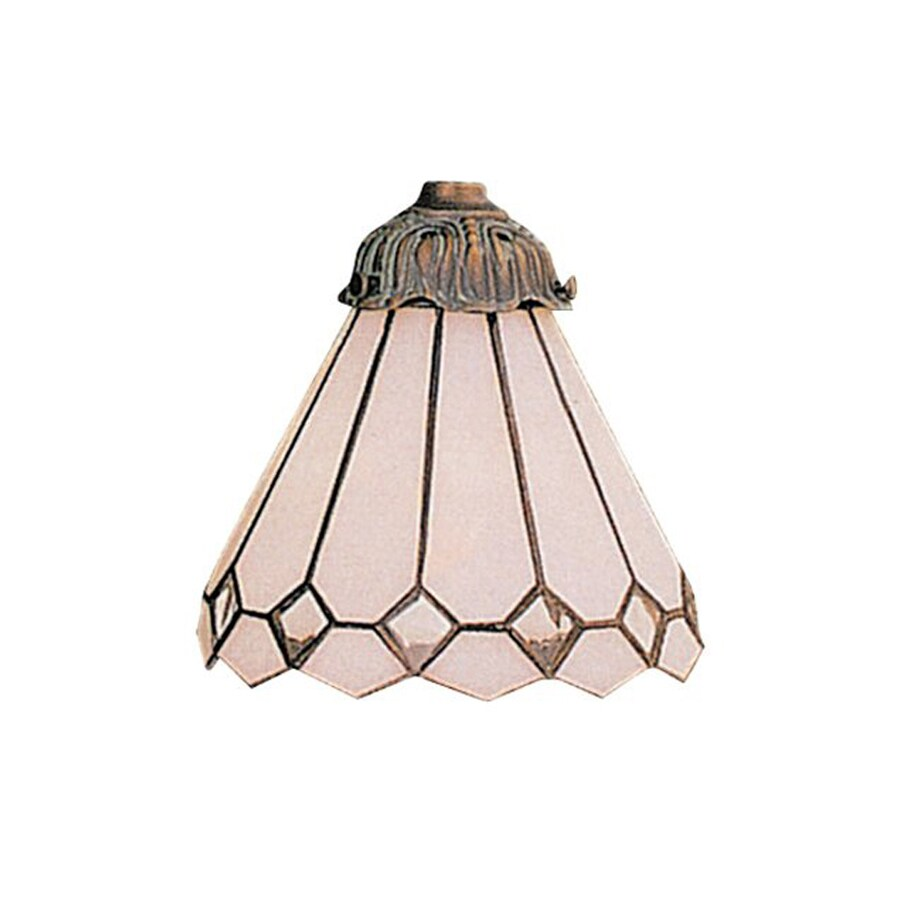 Westmore Lighting Mix-N Match 6-in H 6-in W Clear Stained Glass Tiffany-style Cone Pendant Light Shade