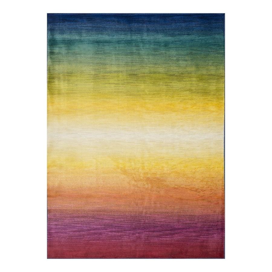 Loloi Lyon Rainbow Rectangular Indoor Machine-Made Area Rug (Common: 3 x 5; Actual: 3.75-ft W x 5.16-ft L)
