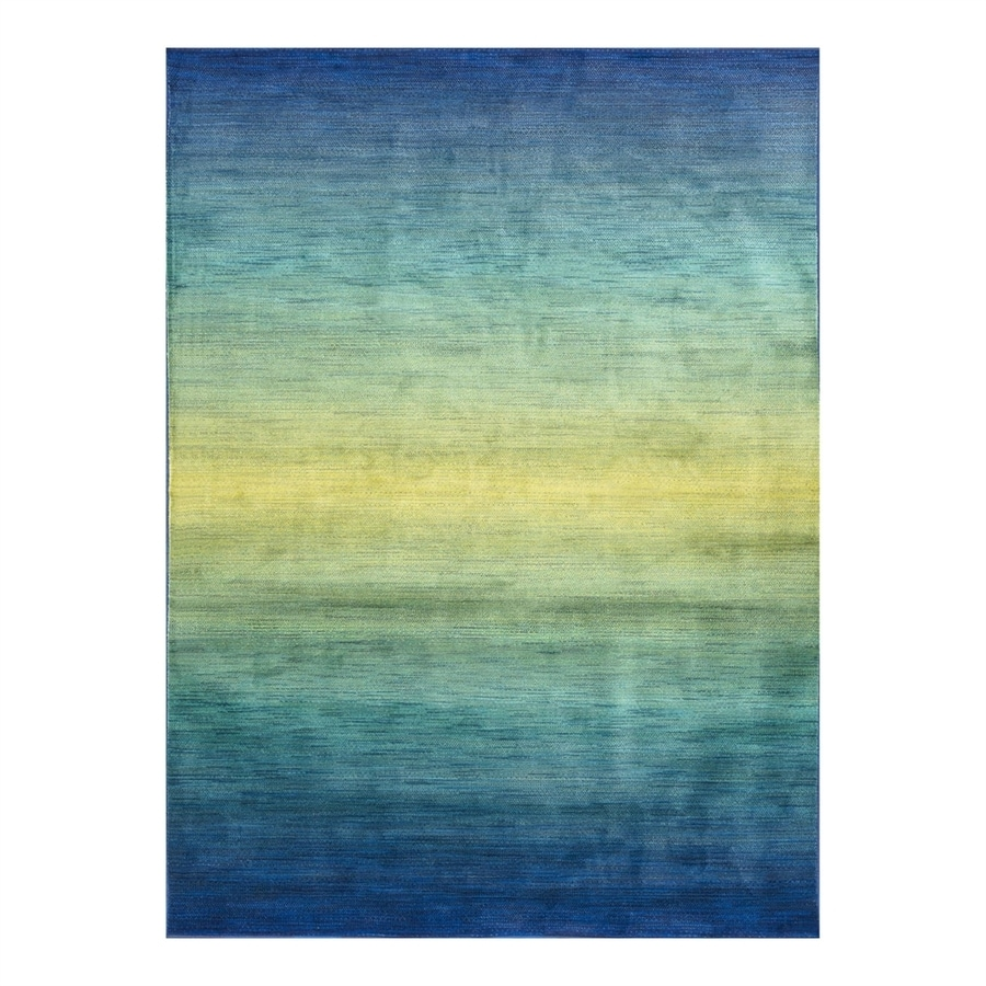 Loloi Madeline Waterfall Rectangular Indoor Machine-Made Area Rug (Common: 7 x 10; Actual: 7.58-ft W x 10.41-ft L)