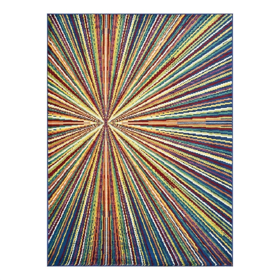 Loloi Madeline Prism Rectangular Indoor Machine-Made Area Rug (Common: 3 x 5; Actual: 3.75-ft W x 5.16-ft L)