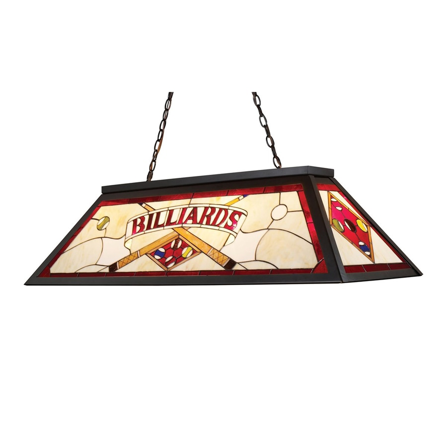 Westmore Lighting Tiffany Bronze Pool Table Lighting