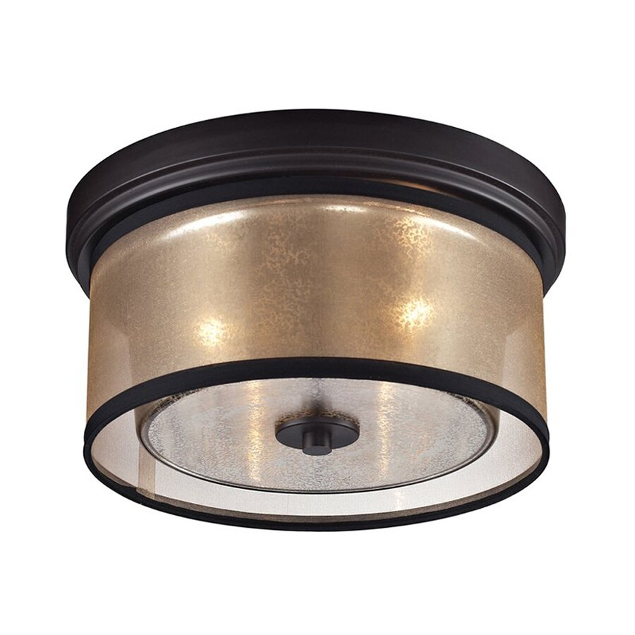 Shop Westmore Lighting Diffusion 13in W OilRubbed Bronze Mercury
