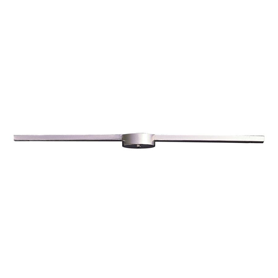 Westmore Lighting Illuminaire 3-Light 36-in Satin Nickel Flush Mount Fixed Track Light Kit
