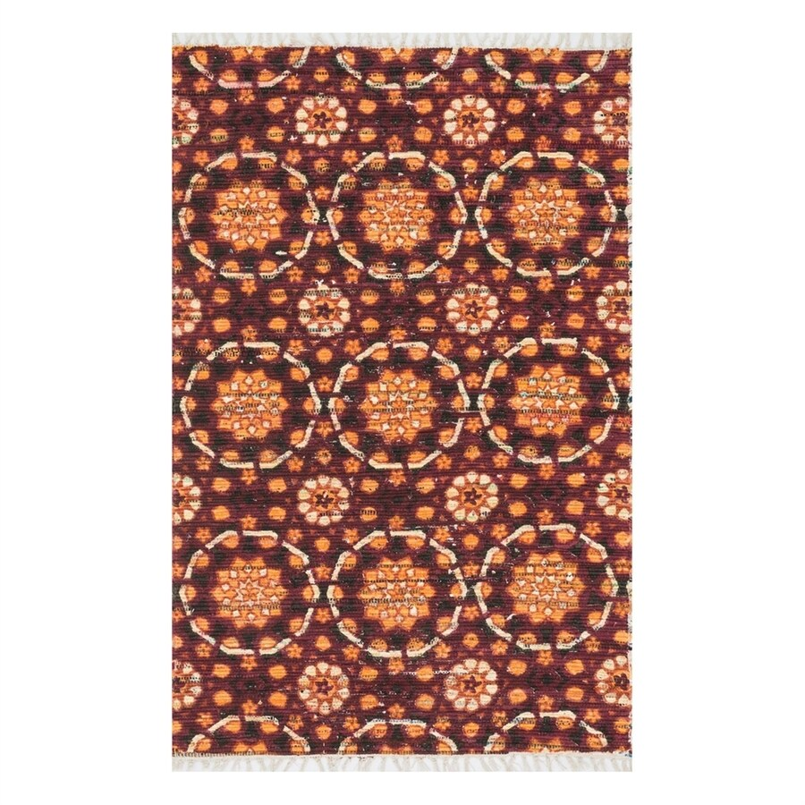 Loloi Aria Spice Rectangular Indoor Handcrafted Area Rug (Common: 2 x 3; Actual: 1.667-ft W x 3-ft L)