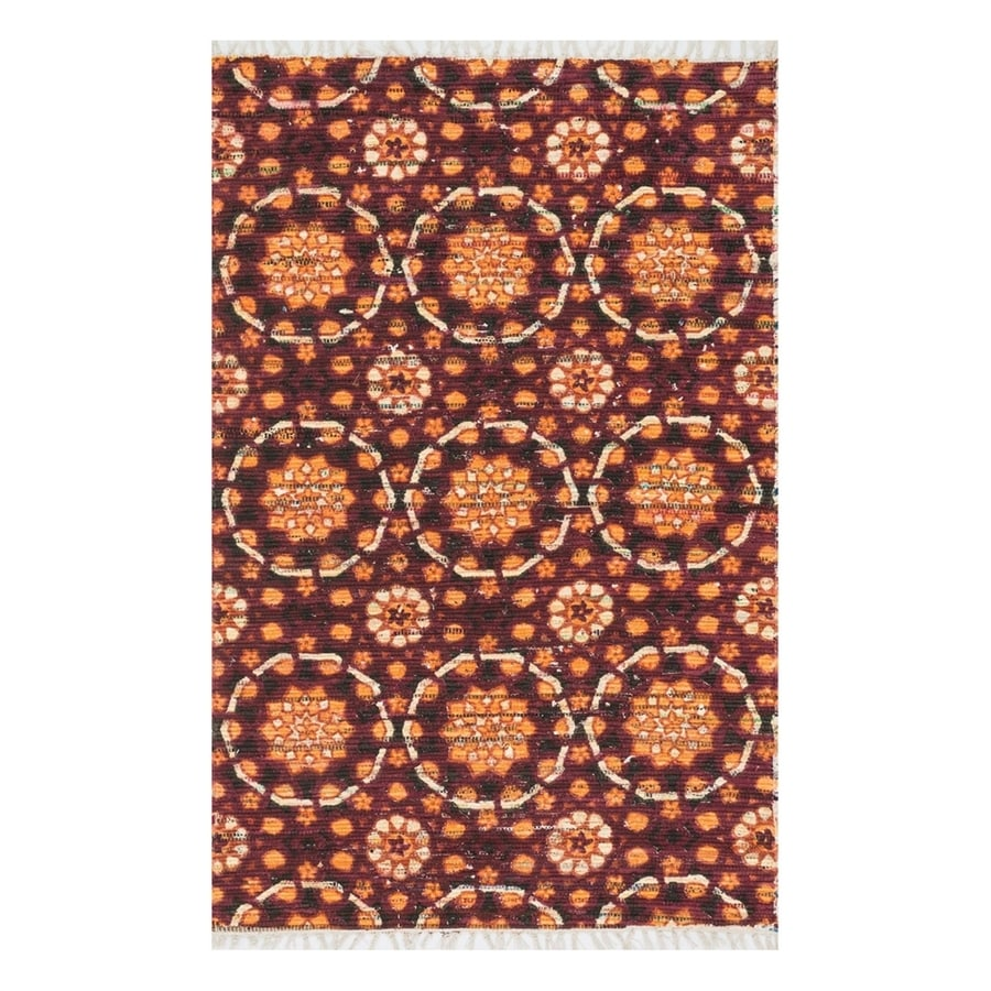 Loloi Aria Spice Rectangular Indoor Handcrafted Area Rug (Common: 2 x 4; Actual: 2.25-ft W x 3.75-ft L)