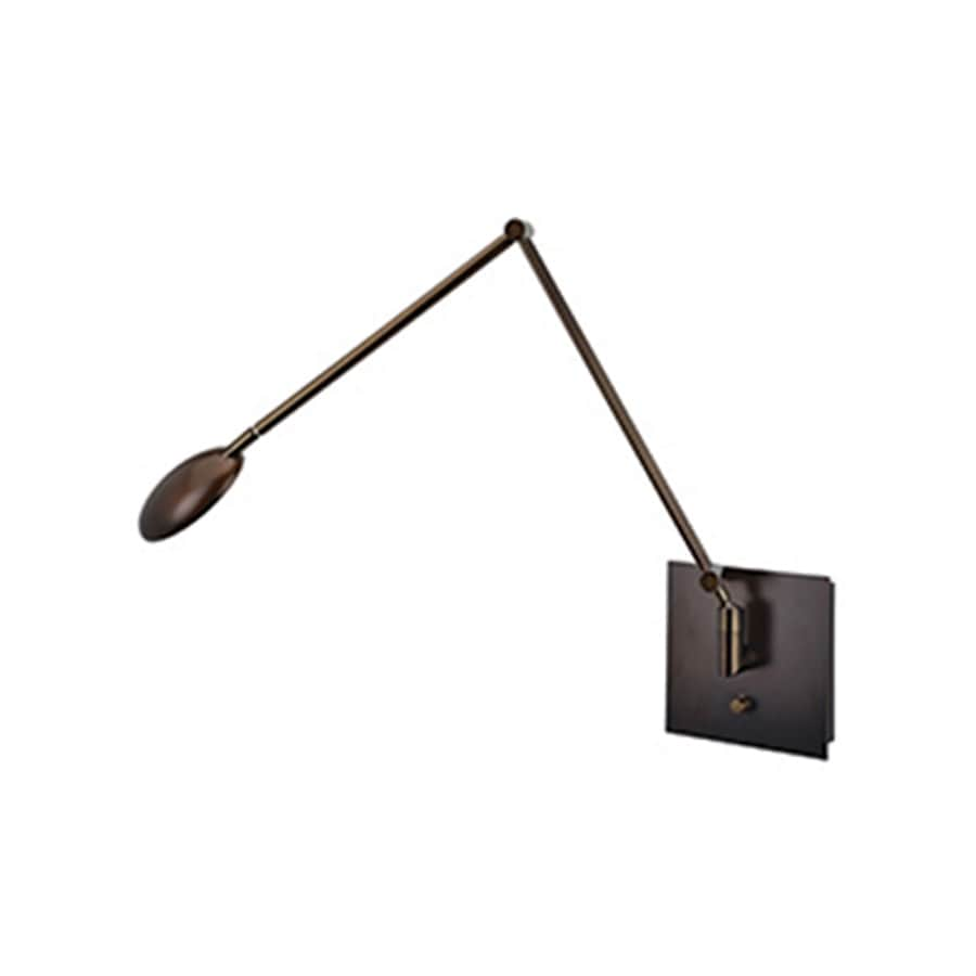 Access Lighting TaskWerx 7-in W 1-Light Bronze Arm Hardwired/Plug-in Integrated LED Wall Sconce