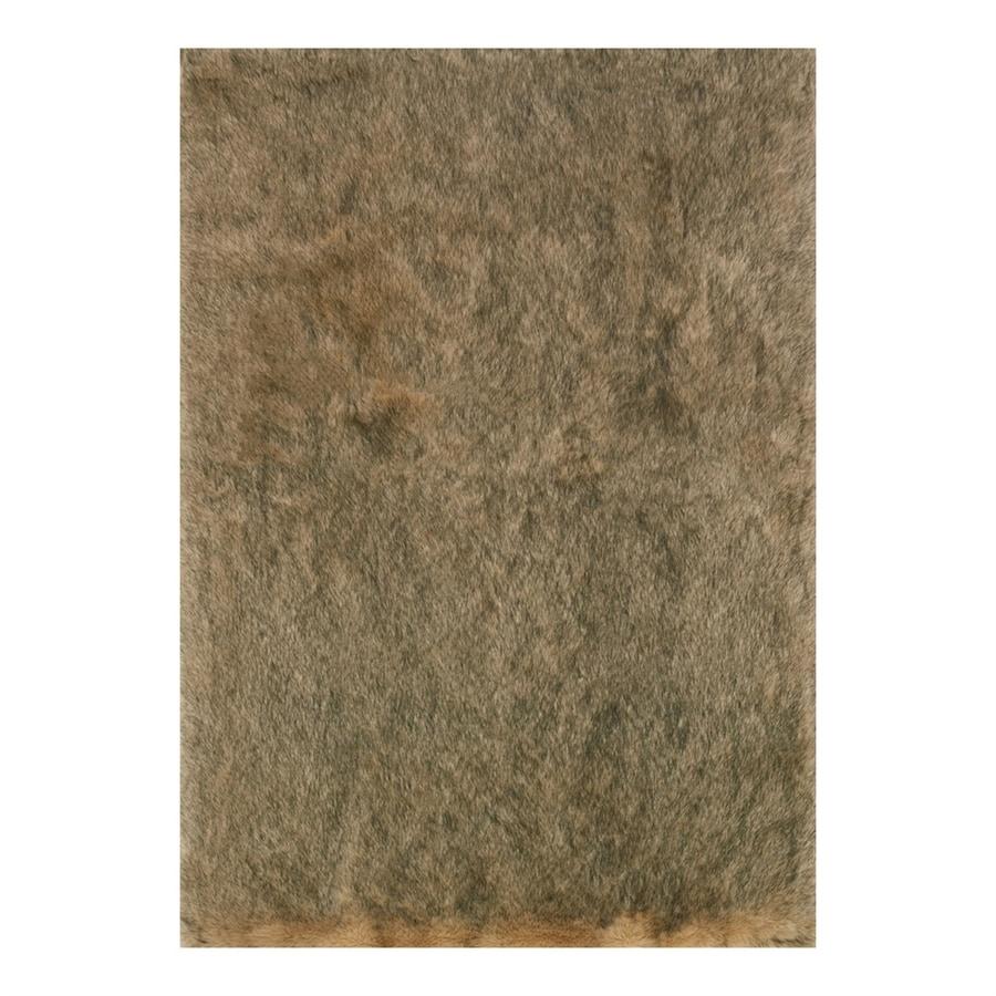 Loloi Finley Beige/Black Rectangular Indoor Machine-Made Animals Area Rug (Common: 8 x 10; Actual: 7.83-ft W x 10-ft L)