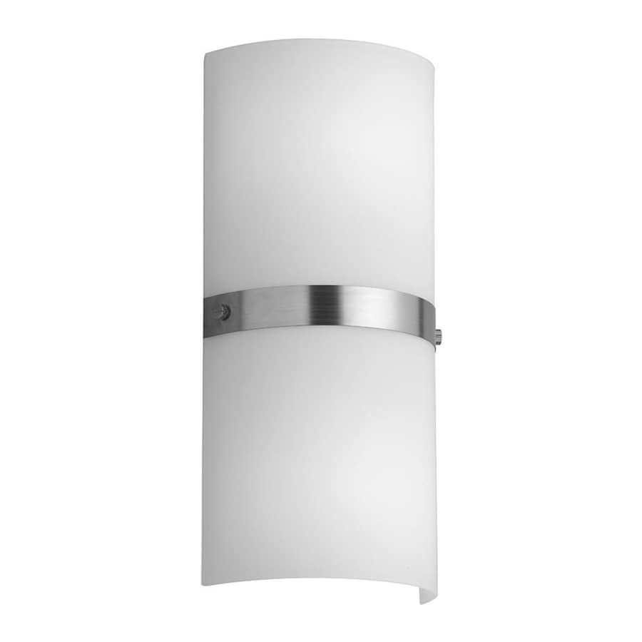 Dainolite Lighting 6-in W 2-Light Satin chrome Pocket Wall Sconce