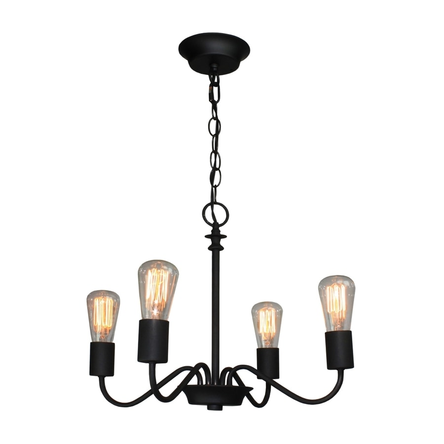 Black Candle Ceiling Lights : Artcraft lighting in light black vintage
