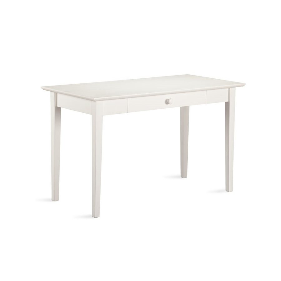 Atlantic Furniture Shaker Transitional White Writing Desk